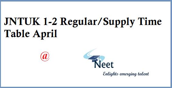 Jntuk-1-2-reg-supply-time-table-april-2020