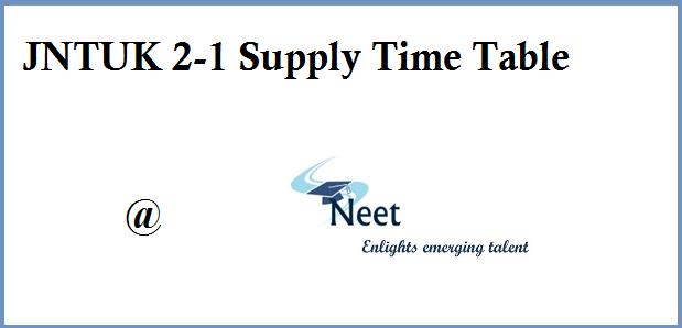 jntuk-2-1-supply-time-table-2020
