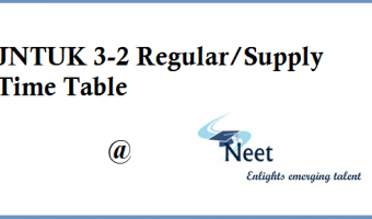 jntuk-3-2-reg-supply-time-table-2020