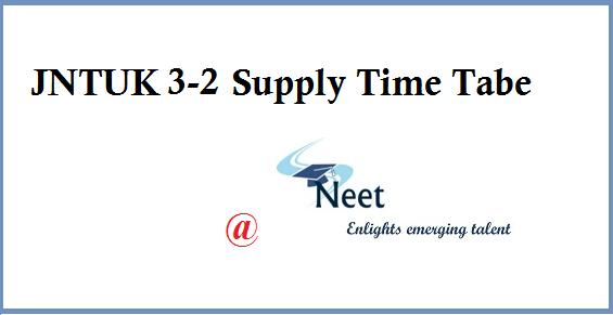 jntuk-3-2-supply-time-table-2020