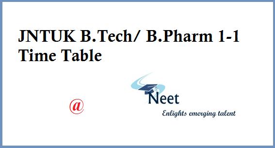 jntuk-b-tech-1-1-exam-schedule-2020