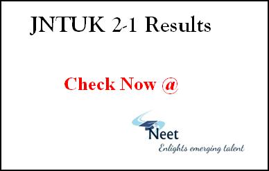 jntuk-btech-2-1-results