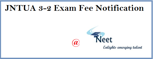 jntua-3-2-regular-supply-exam-fee-notification-april-2020