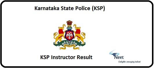 KSP Instructor Result 2020