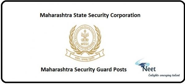 MSSC Recruitment 2021 Maharashtra Security Guard Posts
