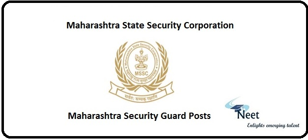Maharashtra Security Guard Posts 2020