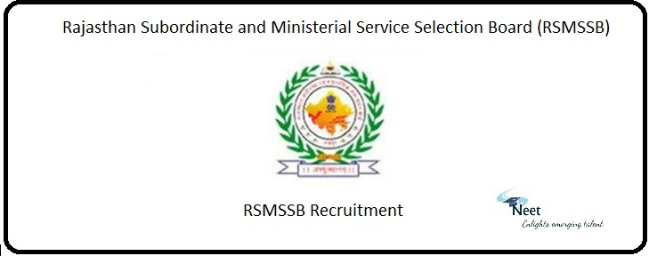 RSMSSB Recruitment 2020