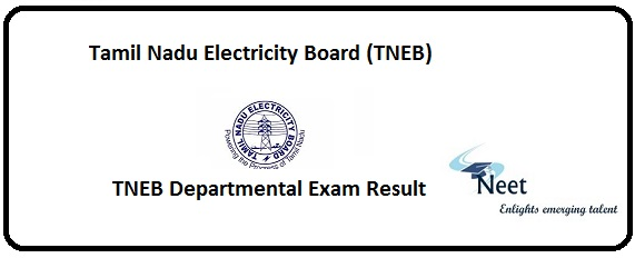 TNEB Departmental Exam Result