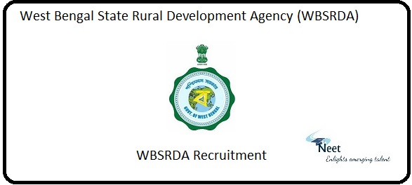 WBSRDA Recruitment 2020
