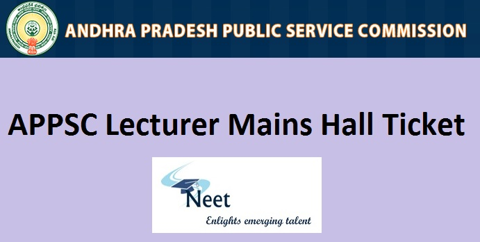 appsc-lecturer-mains-hall-ticket-2020