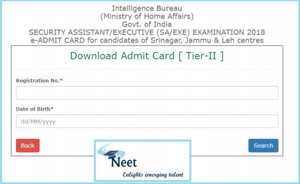 mha-ib-security-assistant-tier-2-admit-card-2020