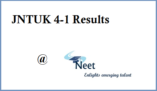 jntuk-4-1-result-2019