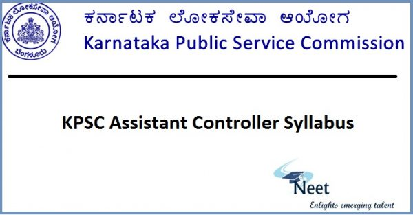 kpsc-assistant-controller-syllabus-2020