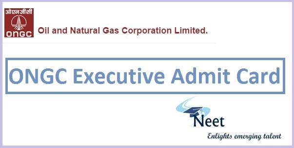 ongc-executive-admit-card-2020