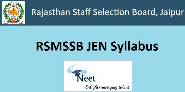 rsmssb-junior-engineer-syllabus-2020