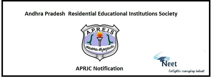 APRJC Notification 2020