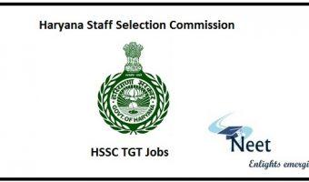 HSSC TGT Jobs 2020