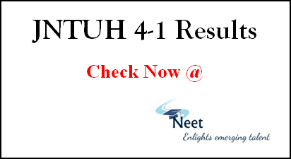 jntuh-4-1-results-2