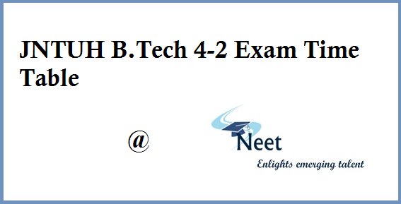 jntuh-b-tech-4-2-sem-regular-supply-exam-time-table-2020