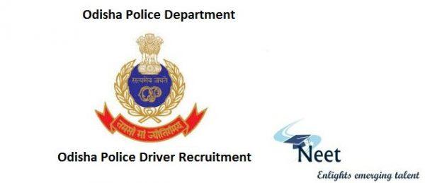 Odisha-Police-Driver-Recruitment