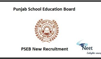 PSEB New Recruitment 2020