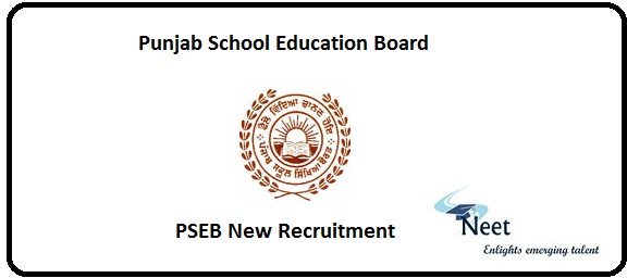 PSEB New Recruitment 2020