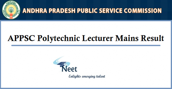 appsc-polytechnic-lecturer-mains-result-2020