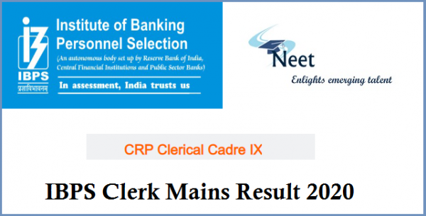 ibps-clerk-mains-result-2020