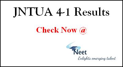 jntua-4-1-results-2