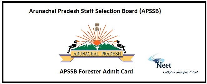 APSSB Forester Admit Card