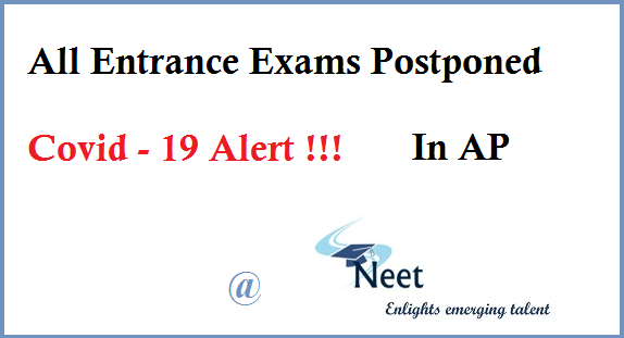 All-Entrance-Exams-Postponed-Covid-19-alert