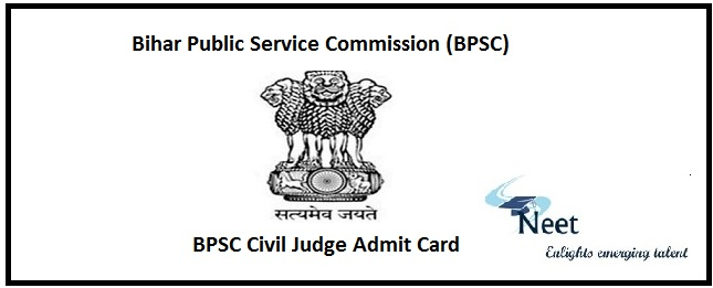 BPSC Judicial Services Admit Card