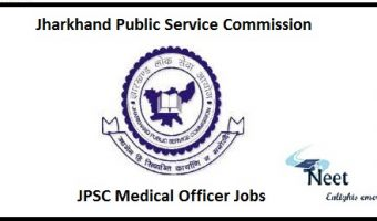JPSC Medical Officer Jobs