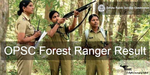 OPSC-Forest-Ranger-Result-2020