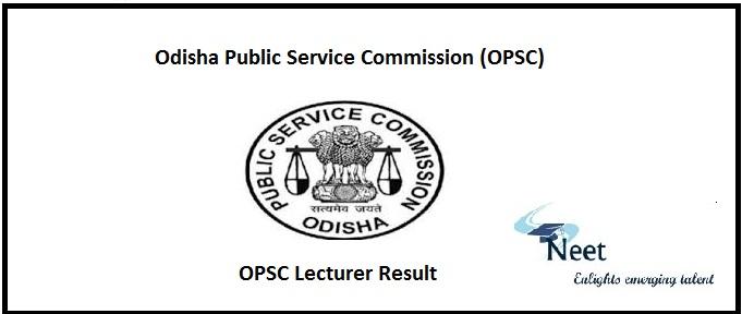OPSC Lecturer Result 2021