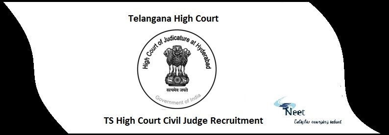 TS High Court Civil Judge Recruitment