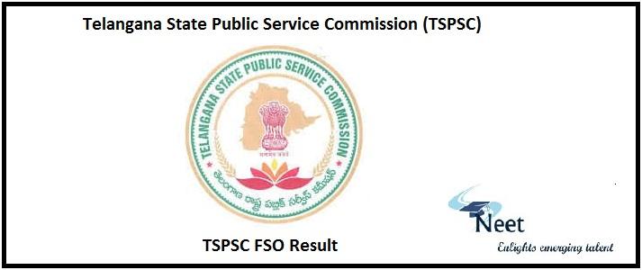 TSPSC FSO Result