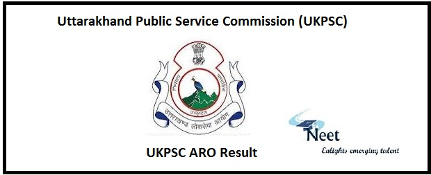 UKPSC ARO Result