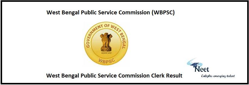 WBPSC Clerk Resutl
