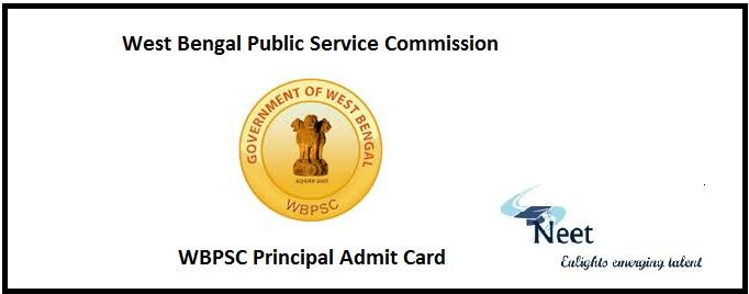 WBPSC Principal Admit Card
