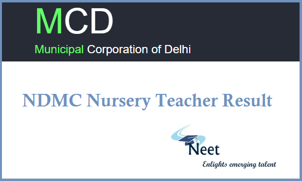 ndmc-nursery-teacher-result-2020