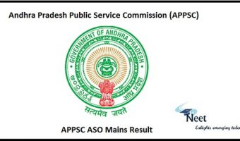 APPSC ASO Mains Result