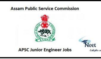 APSC Junior Engineer Jobs