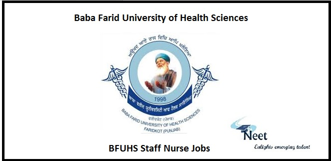 BFUHS Staff Nurse Jobs
