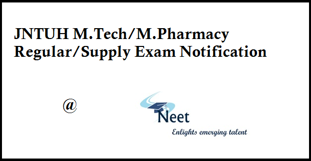JNTUH-Mtech-Mpharmacy-Exam-Fee-Notification-2020-Aug