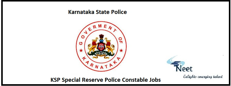 KSP Special Reserve Police Constable Jobs