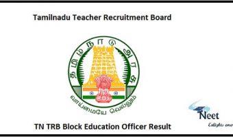 TN TRB BEO Result