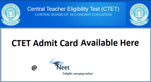 CTET-Admit-card-2020