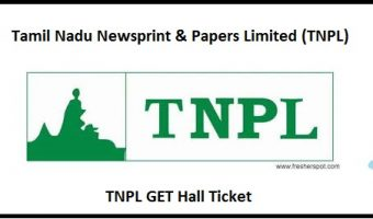 TNPL GET Hall Ticket