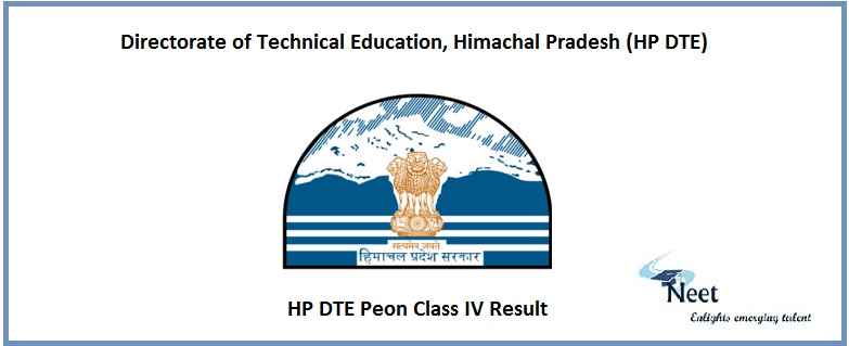 HP DTE Peon Class IV Result